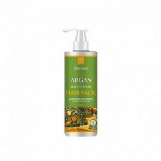 маска для волос с аргановым маслом deoproce argan silky moisture hair pack