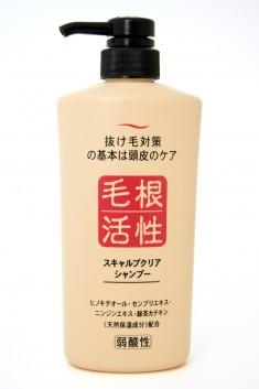 шампунь для укрепления и роста волос junlove scalp clear shampoo