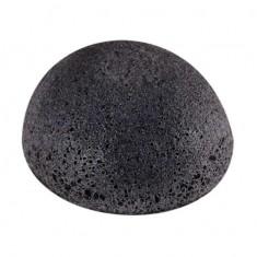 спонж конняку the saem 100% charcoal jelly cleansing puff