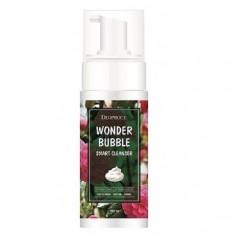умная пенка для умывания и снятия макияжа deoproce wonder bubble smart cleanser