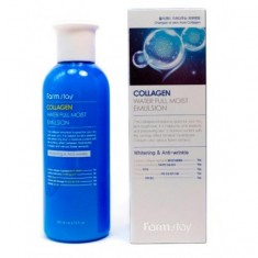 увлажняющая эмульсия с коллагеном farmstay collagen water full moist emulsion