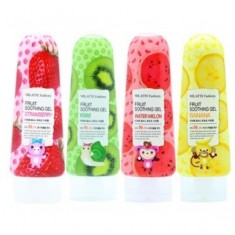 гель для лица и тела многофункциональный milatte fashiony fruit soothing gel