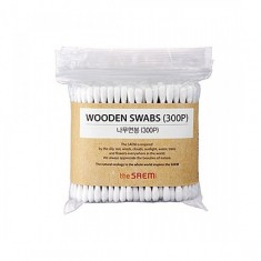 ватные палочки the saem art'lif wooden swabs