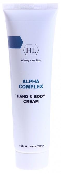 HOLY LAND Крем для рук и тела / Hand & Body Cream ALPHA COMPLEX 100 мл