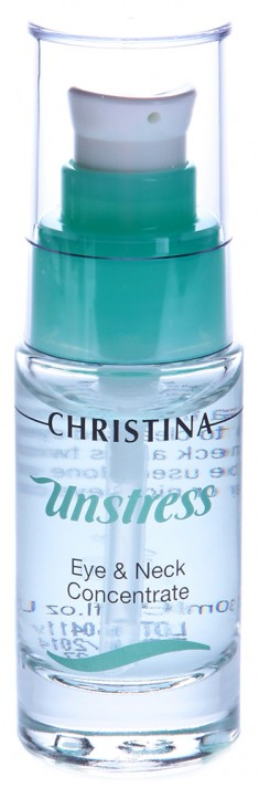 CHRISTINA Концентрат для кожи век и шеи / Eye and Neck Concentrate UNSTRESS 30 мл
