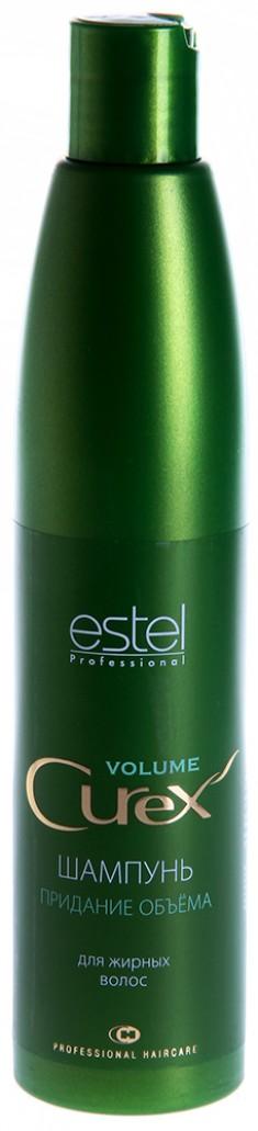 ESTEL PROFESSIONAL Шампунь для придания объема жирных волос / Curex Volume 300 мл