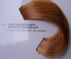 L'OREAL PROFESSIONNEL 8.34 краска для волос / ДИАЛАЙТ 50 мл LOREAL PROFESSIONNEL