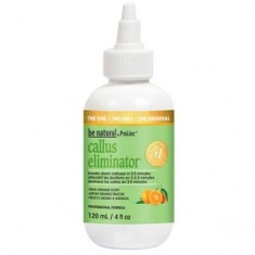 BE NATURAL Средство с запахом апельсина для удаления натоптышей / Callus Eliminator Orange 120 г