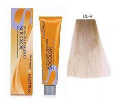 MATRIX UL-V+ краска для волос, перламутровый+ / СОКОЛОР БЬЮТИ ULTRA BLONDE 90 мл