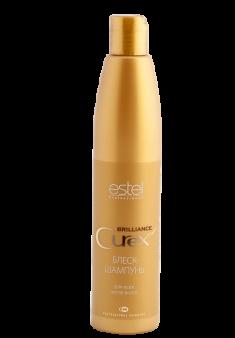 ESTEL PROFESSIONAL Блеск-шампунь для всех типов волос / Curex Brilliance 300 мл
