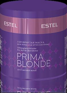 ESTEL PROFESSIONAL Маска оттеночная серебристая для холодных оттенков блонд / Prima Blonde 300 мл