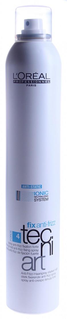 L'OREAL PROFESSIONNEL Спрей сильной фиксации с защитой от влаги Анти-Фризз 4 / TECNI.ART 400 мл LOREAL PROFESSIONNEL