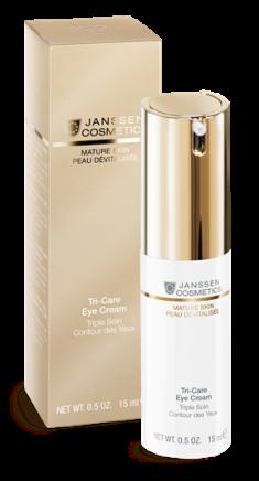 JANSSEN COSMETICS Крем омолаживающий укрепляющий с комплексом Cellular Regeneration для контура глаз / Tri-Care Eye Cream 15 мл