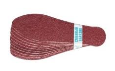 DOMIX Комплект сменных абразивов для педикюрной пилки-терки, зернистость 80 / DGP