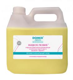DOMIX Средство для ускоренной подготовки к маникюру и педикюр Жидкое лезвие / DGP 3000 мл