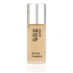 MAKE UP FACTORY Крем тональный матовый для нормальной и жирной кожи, 08 сатиновая кожа / Oil-free Foundation