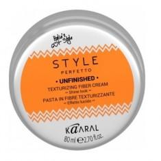 KAARAL Паста волокнистая для текстурирования волос / STYLE Perfetto UNFINISHED TEXTURIZING FIBER CREAM 80 г