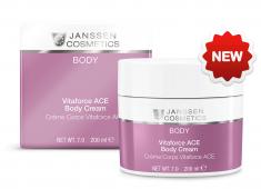 JANSSEN COSMETICS Крем насыщенный с витаминами A, C и E для тела 200 мл