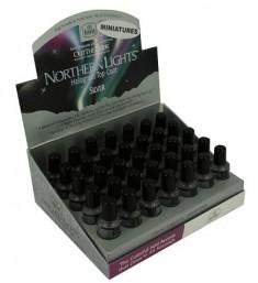 INM Сушка-закрепитель лака голографическая, серебро / Northern Lights Silver 3,5 мл