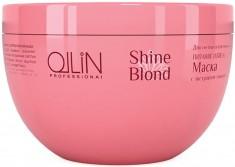 OLLIN PROFESSIONAL Маска с экстрактом эхинацеи / SHINE BLOND 300 мл