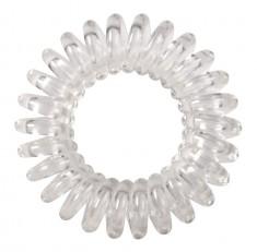 DEWAL BEAUTY Резинки для волос Пружинка, цвет прозрачный 3 шт