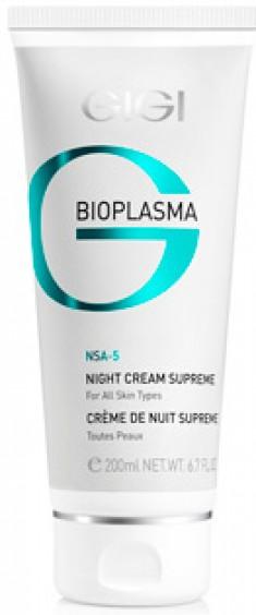 GIGI Крем энергетический ночной Суприм / Night Cream Supreme BIOPLASMA 50 мл