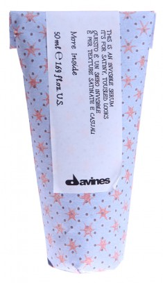 DAVINES SPA Сыворотка невидимая для небрежного стайлинга с сатиновым блеском / MORE INSIDE 50 мл