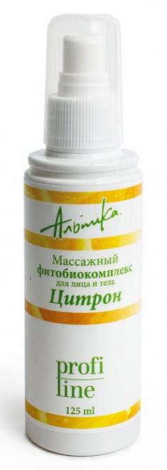 АЛЬПИКА Масло массажное фитобиокомплекс для лица и тела Цитрон 150 мл Альпика