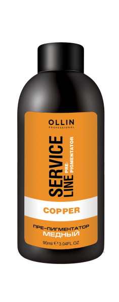 OLLIN PROFESSIONAL Флюид-препигментатор, медный / Copper Fluid-Pre-Color 90 мл