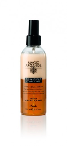NOOK Кондиционер легкий двухфазный для волос Магия Арганы / Keratin Power Booster MAGIC ARGANOIL 200 мл