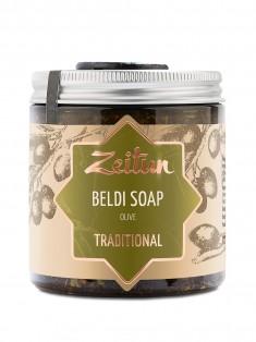 Деревенское мыло Бельди №1 традиционное с оливой и эвкалиптом