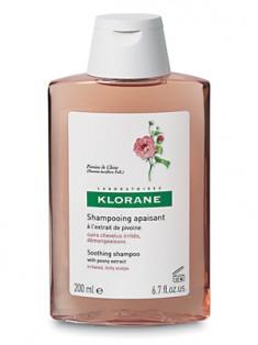 Клоран (Klorane) Шампунь успокаивающий с экстрактом пиона 200 мл