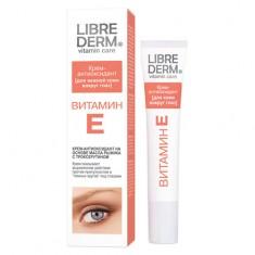 Либридерм Витамин Е крем-антиоксидант для нежной кожи вокруг глаз 20 мл Librederm