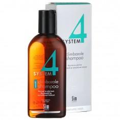 Sim Sensitive Система 4 шампунь терапевтический №1 для нормальных и склонных к жирности волос  215мл