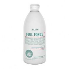 Ollin Professional FULL FORCE Увлажняющий шампунь против перхоти с экстрактом алоэ 300мл