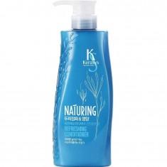 KeraSys Кондиционер для волос Naturing Уход за кожей головы с морскими водорослями 500 ml