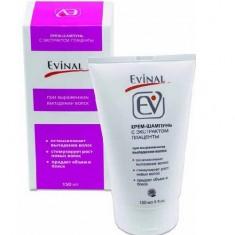 Эвиналь крем-шампунь с экстрактом плаценты при выраженном выпадении волос для всех типов 150мл Evinal