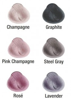 KIS Color Ash-blond Metallics Pink Champagne Краситель для волос Розовое вино 100 мл