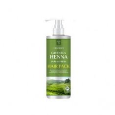 Маска с зеленым чаем и хной для волос, 1000 мл (Deoproce)