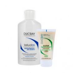 Набор для борьбы с перхотью кожи головы, 1 шт. (Ducray)