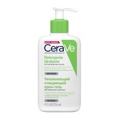 CeraVe Крем-гель увлажняющий очищающий для нормальной и сухой кожи лица и тела 236 мл