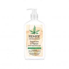 HEMPZ Молочко для тела, сахарный тростник и папайя / Sugarcane & Papaya Herbal Body Moisturizer 500 мл