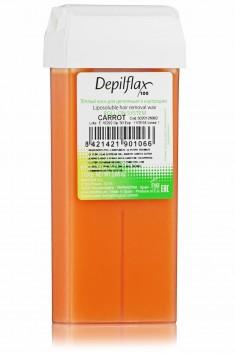 DEPILFLAX 100 Воск для депиляции в картридже, морковь 110 г