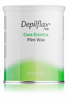 DEPILFLAX 100 Воск пленочный в банке / Cera Elastica Film Wax 800 г