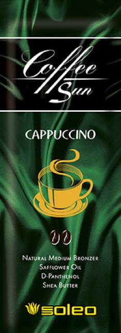SOLEO Бронзатор интенсивный натуральный с запахом кофе с молоком / Coffe Sun Cappuccino 15 мл