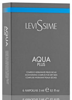LEVISSIME Комплекс увлажняющий / Aqua Plus 6*3 мл