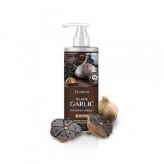 бальзам для волос чёрный чеснок deoproce rinse - black garlic intensme energy