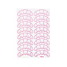 EVABOND, Набор подложек для наращивания ресниц, с разметкой, 8 пар IRISK