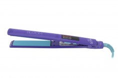GA MA Щипцы-выпрямители ELEGANCE LED BLOOM фиолетовые, LED терморегулятор 130-230 градусов