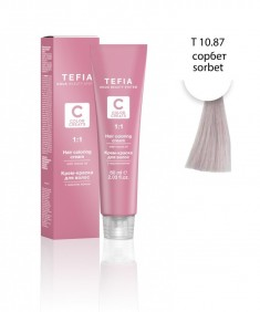 TEFIA Т 10.87 тонер сорбет / Color Creats 60 мл
